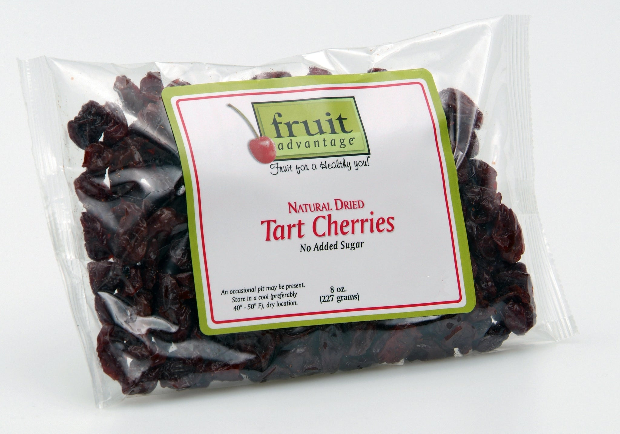 Natural (No-Added-Sugar) Dried Tart Cherries - traversebayfarms