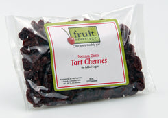 Natural (No-Added-Sugar) Dried Tart Cherries - 8 oz bag - traversebayfarms