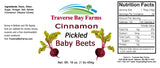 Cinnamon Pickled Baby Beets - traversebayfarms