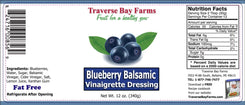 Blueberry Balsamic Vinaigrette Dressing - BOGO - traversebayfarms