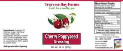 Cherry Poppyseed Salad Dressing - traversebayfarms