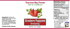 Strawberry Poppyseed Salad Dressing - BOGO - traversebayfarms