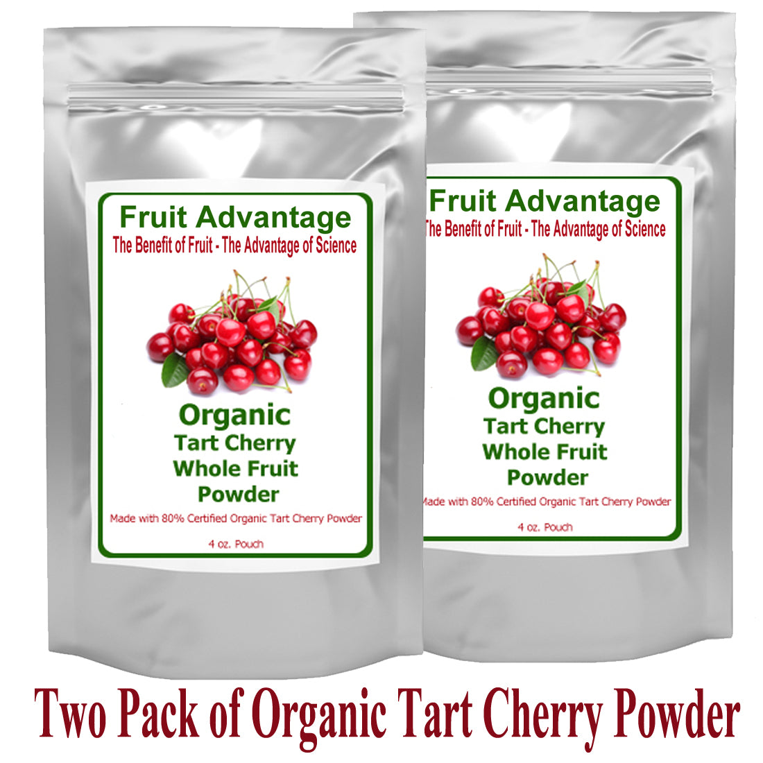 Tart Cherry Powder - 2 Bags