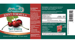 Fruit Advantage Tart Cherry Capsules Joint Formula - 60 count - traversebayfarms