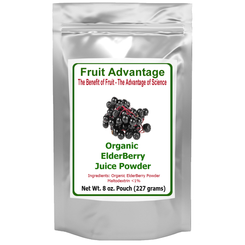 ElderBerry Juice Powder - Organic