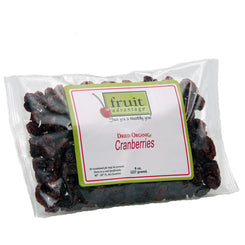 Dried Organic Cranberries - traversebayfarms
