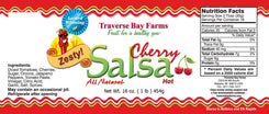 Zesty Cherry Salsa - (Spicy But Not Hot) - traversebayfarms