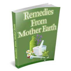 Natural Remedies from Mother Earth - PRINTED BOOK - traversebayfarms