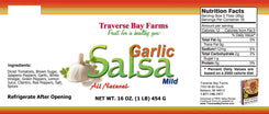 Garlic Salsa, Mild - traversebayfarms
