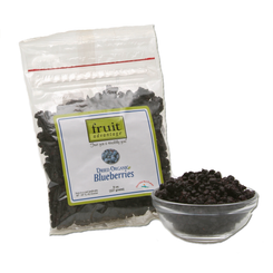 Dried Organic Wild Blueberries - 8 oz bag - traversebayfarms