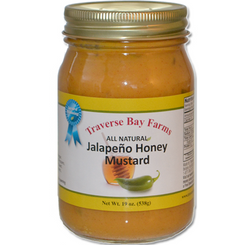 Traverse Bay Farms Honey Jalapeno Mustard