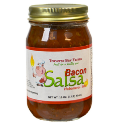 Bacon Salsa - Habanero Hot - traversebayfarms