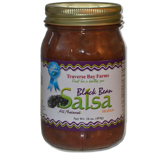 Black Bean Salsa - traversebayfarms