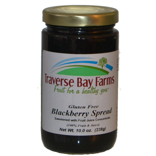 Blackberry No-Added-Sugar Spread - traversebayfarms