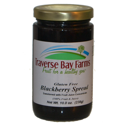 Traverse Bay Farms No Added Sugar Blackberry Spread