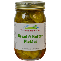Traverse Bay Farms Bread and Butter Pickles