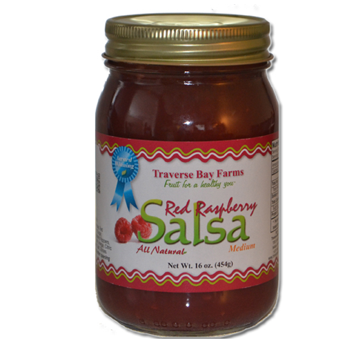 Red Raspberry Salsa - traversebayfarms