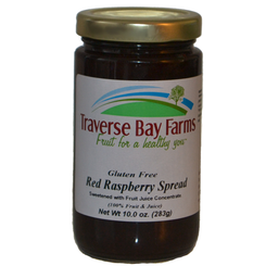 Traverse Bay Farms No Added Sugar Red Raspberry Spread