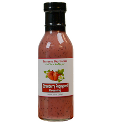 Strawberry Poppyseed Salad Dressing - traversebayfarms