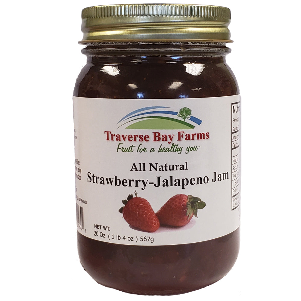 Strawberry Jalapeno Jam - traversebayfarms