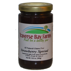 Strawberry No-Added-Sugar Spread - traversebayfarms
