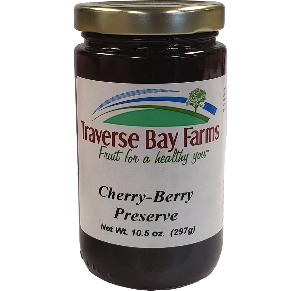 Cherry-Berry Preserves - traversebayfarms