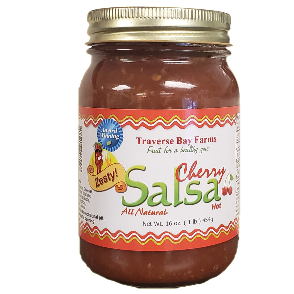 Cherry Salsa - Zesty (Hot) - traversebayfarms
