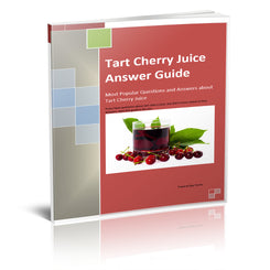 Tart Cherry Juice Answer Guide - traversebayfarms
