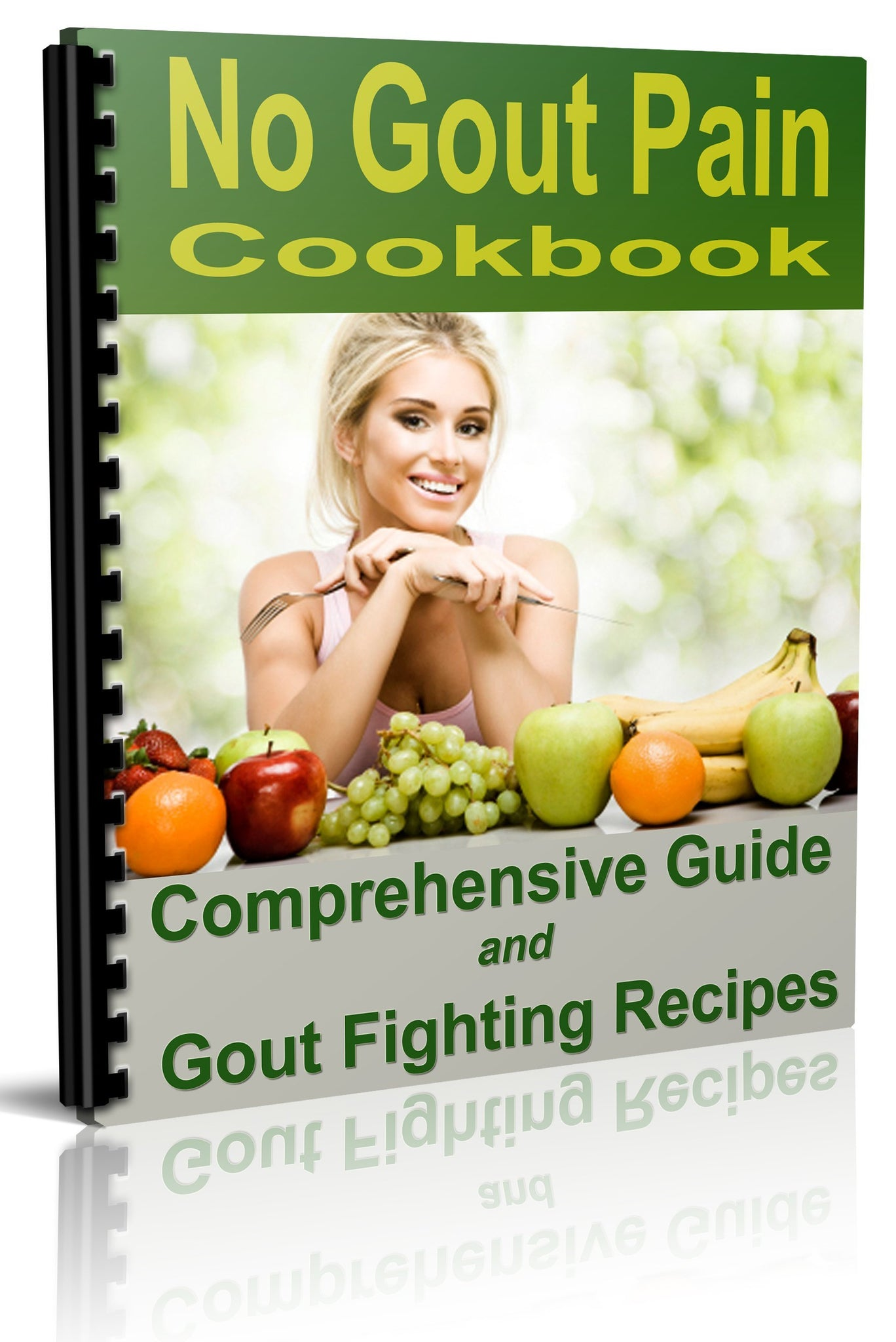No Gout Pain Cookbook - Printed Version - traversebayfarms