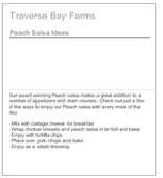 Fruit Salsa Sampler - traversebayfarms