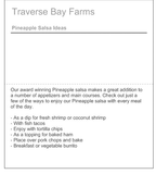 Pineapple Salsa - traversebayfarms