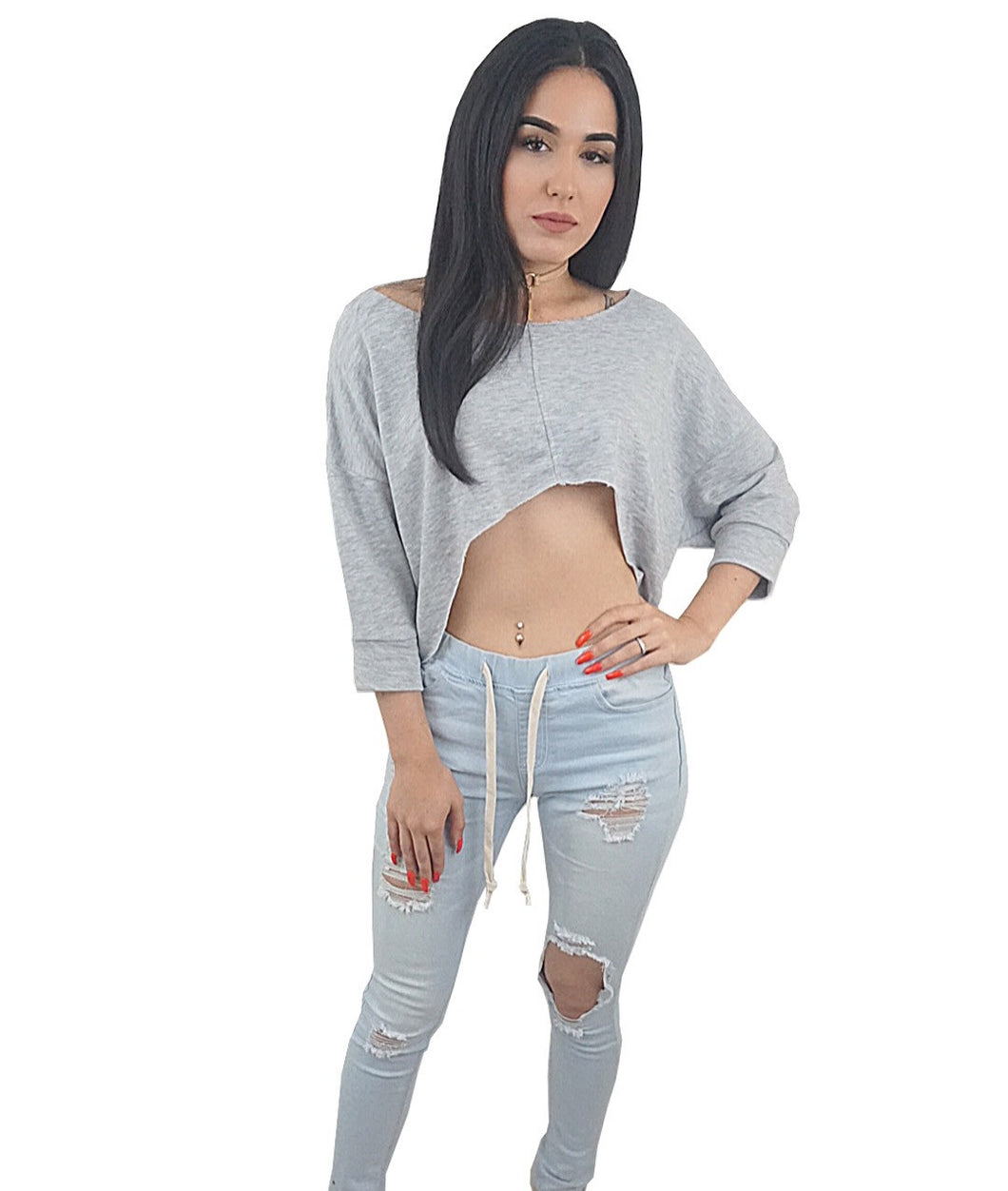 Vibe Crop Top - Desired Clothing