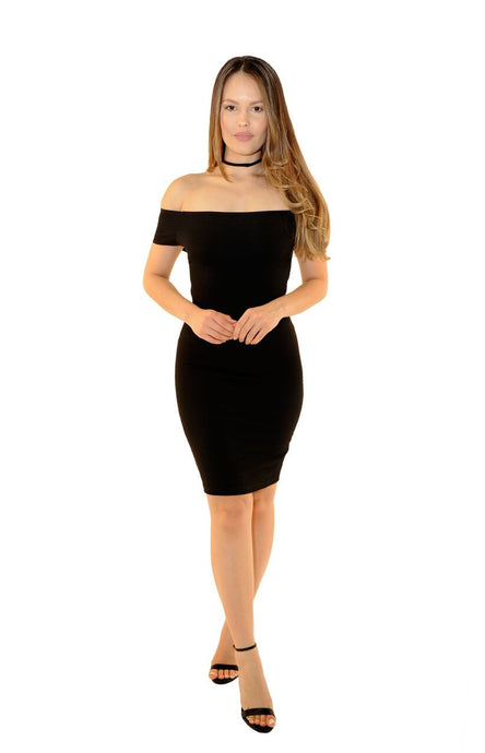 Katie Midi Dress - Desired Clothing
