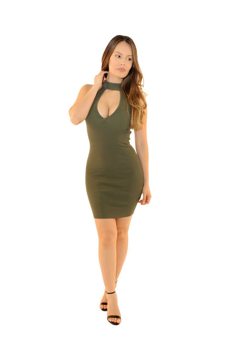 Olivia Bodycon Dress - Desired Clothing