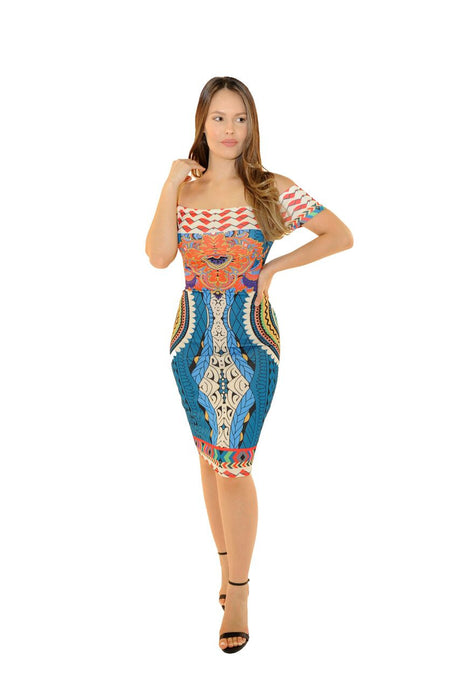Miami Midi Dress - Desired Clothing