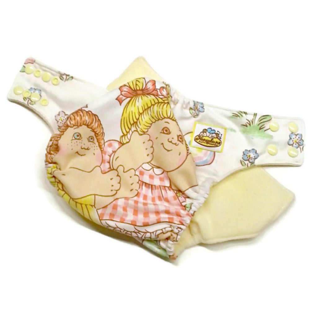 Cabbage Patch Cotton Cloth Diaper