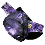 Purple Cosmos PUL Cloth Diaper