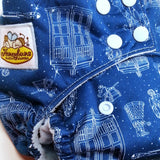 Doctor Who PUL Cloth Diaper