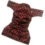 Red Dragon Scales PUL Cloth Diaper