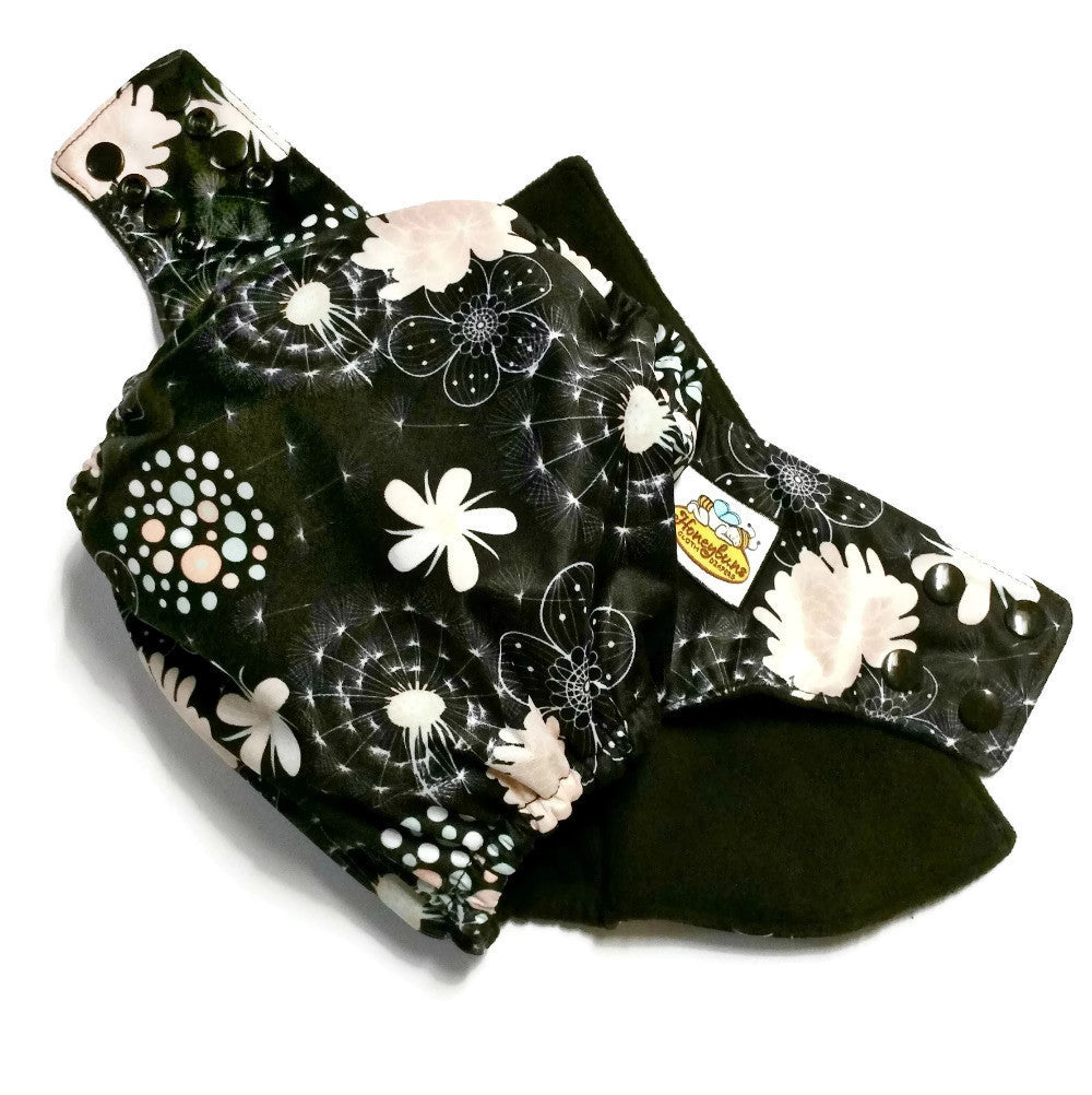 Dandelion Night PUL Cloth Diaper