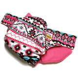 Aztec Pink PUL Cloth Diaper