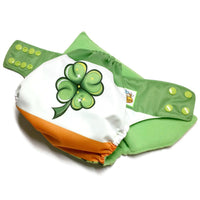 Four-Leaf Clover PUL Cloth Diaper