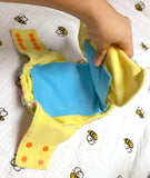 Washable Diaper Liners 5-pack