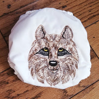 Wise Wolf Embroidered PUL Cloth Diaper