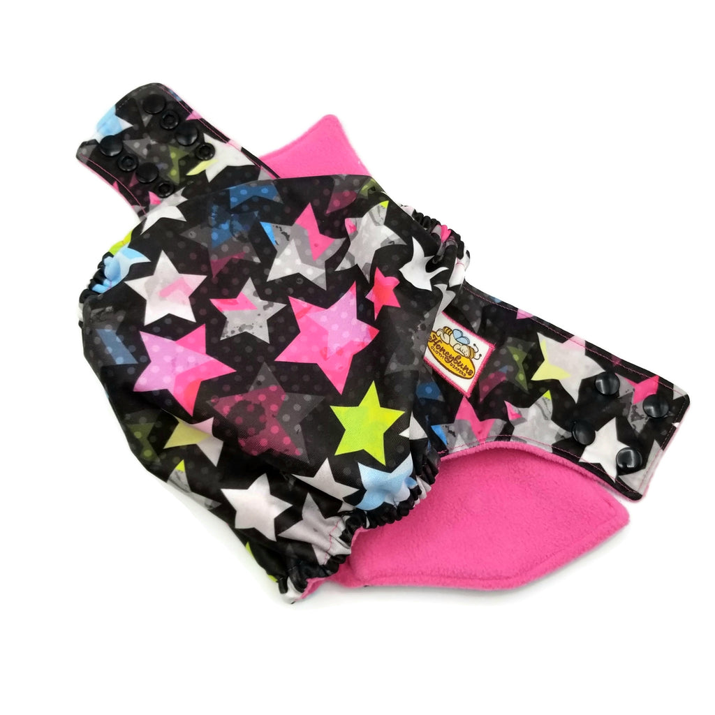 Rock Stars PUL Cloth Diaper