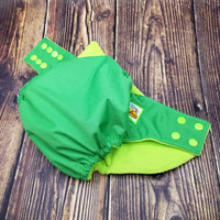 Green BasicBuns™ PUL Cloth Diaper