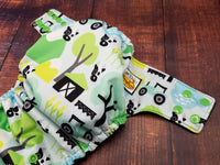 Cows & Tractors PUL Cloth Diaper
