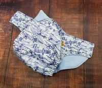 Airplanes PUL Cloth Diaper