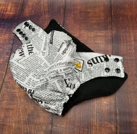 Newspaper PUL Cloth Diaper