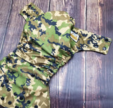 Camouflage PUL Cloth Diaper